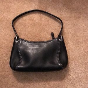 Cole Haan Black leather small purse